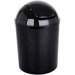Poubelle salle de bain noire achat vente poubelle - Poubelle de salle de bain design ...