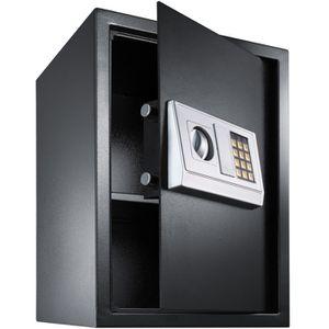 COFFRE FORT Coffre-fort en acier électronique 50 cm x 35 cm x