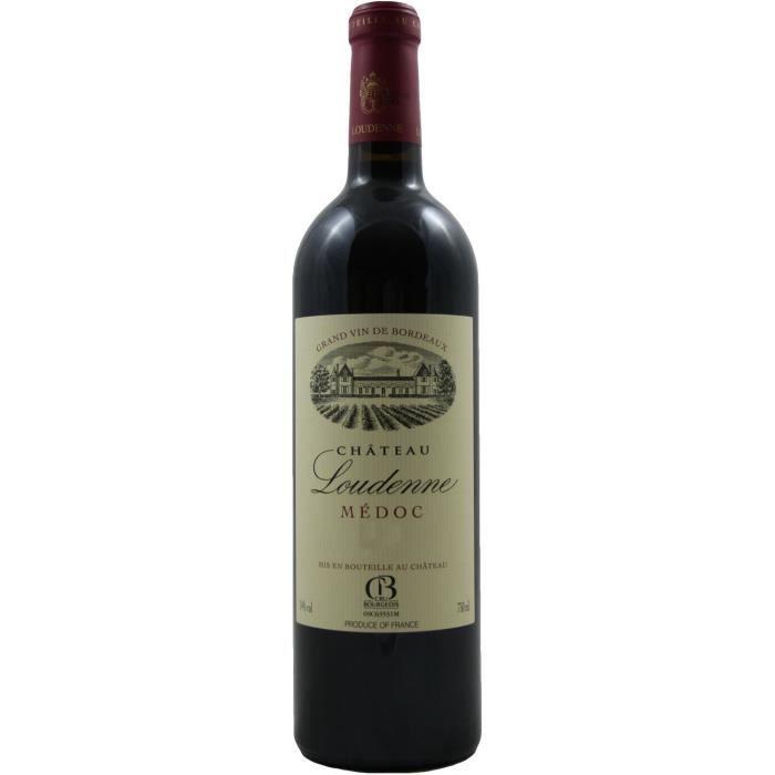 vin rouge ch teau loudenne cru bourgeois m doc bordeaux 2009 achat vente vin rouge vin. Black Bedroom Furniture Sets. Home Design Ideas