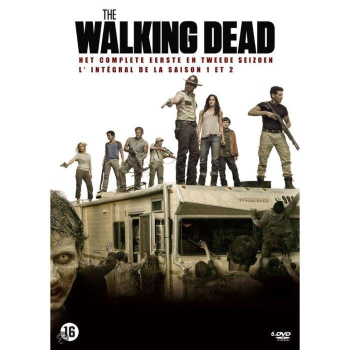 walking dead saison 1 2 en dvd s rie pas cher cdiscount. Black Bedroom Furniture Sets. Home Design Ideas