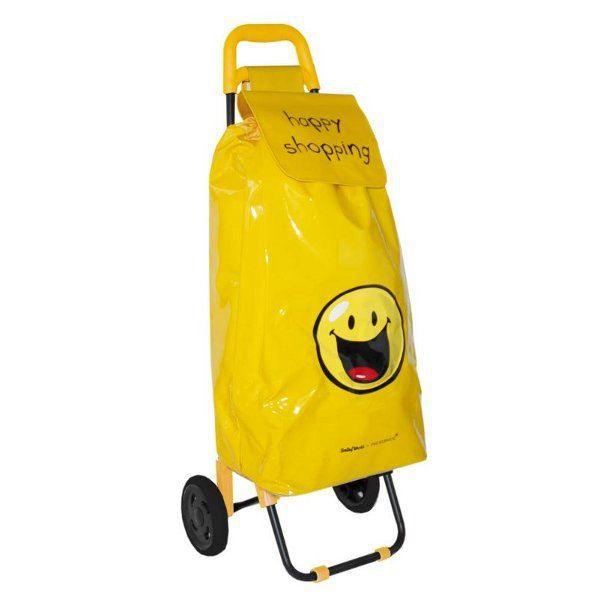 poussette de march jaune smiley happy shopping achat. Black Bedroom Furniture Sets. Home Design Ideas