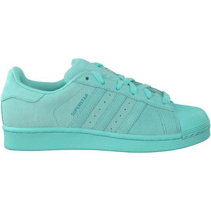 adidas superstar bleu vert