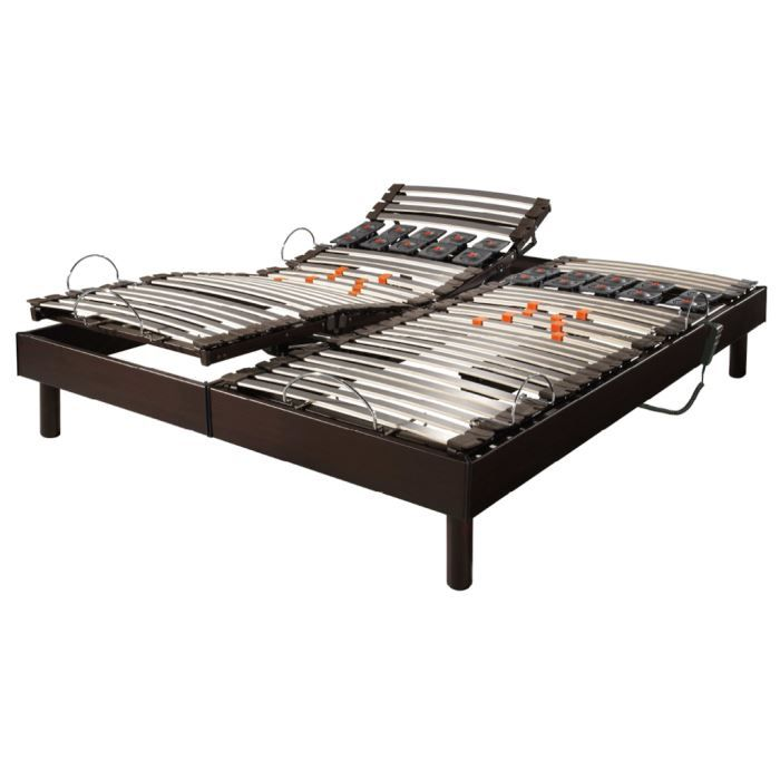 Sommier relaxation lectrique s66 2 x 80 x 200 achat vente sommier cd - Sommier 2 x 80 x 200 ...