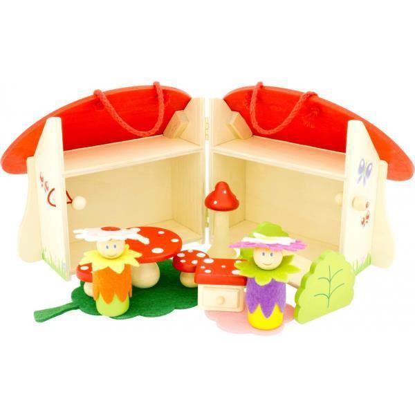 La maison des champignons achat vente univers miniature cdiscount - Champignons maison symptomes ...