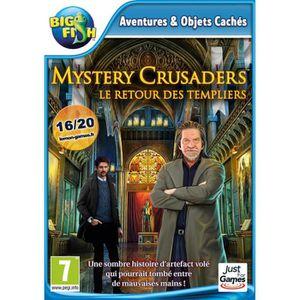JEU PC Mystery Crusaders Le Retour des Templiers Jeu PC