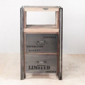 buffet industriel achat vente buffet industriel pas cher cdiscount. Black Bedroom Furniture Sets. Home Design Ideas