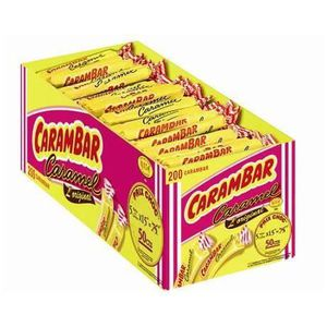 CHEWING-GUM Carambar, caramel, 200 pièces