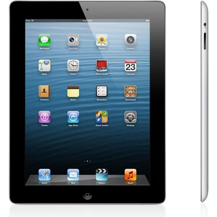 tablette tactile 10 pouces apple ipad 3 retina 32 go wifi noir prix pas cher cdiscount. Black Bedroom Furniture Sets. Home Design Ideas
