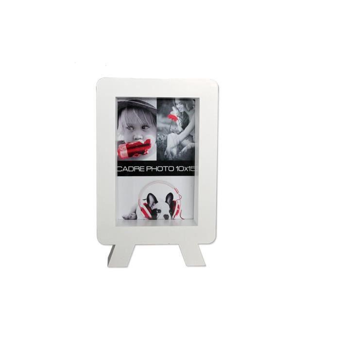 cadre photo 3d tv vertical blanc achat vente cadre photo pvc soldes d t cdiscount. Black Bedroom Furniture Sets. Home Design Ideas