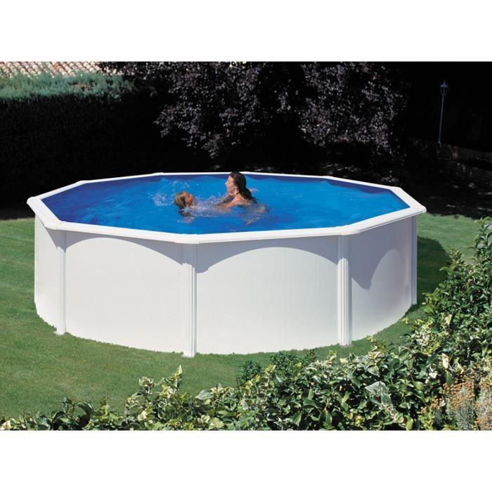 piscine acier en kit ronde x m achat vente kit piscine piscine acier en kit ronde