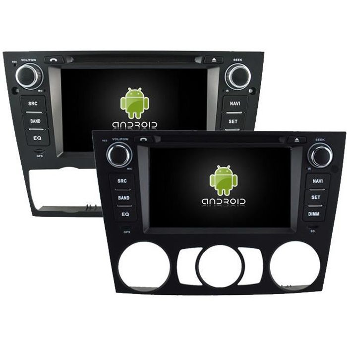 autoradio android 4 4 4 gps bmw s rie 3 achat vente autoradio autoradio android 4 4 4 gps. Black Bedroom Furniture Sets. Home Design Ideas