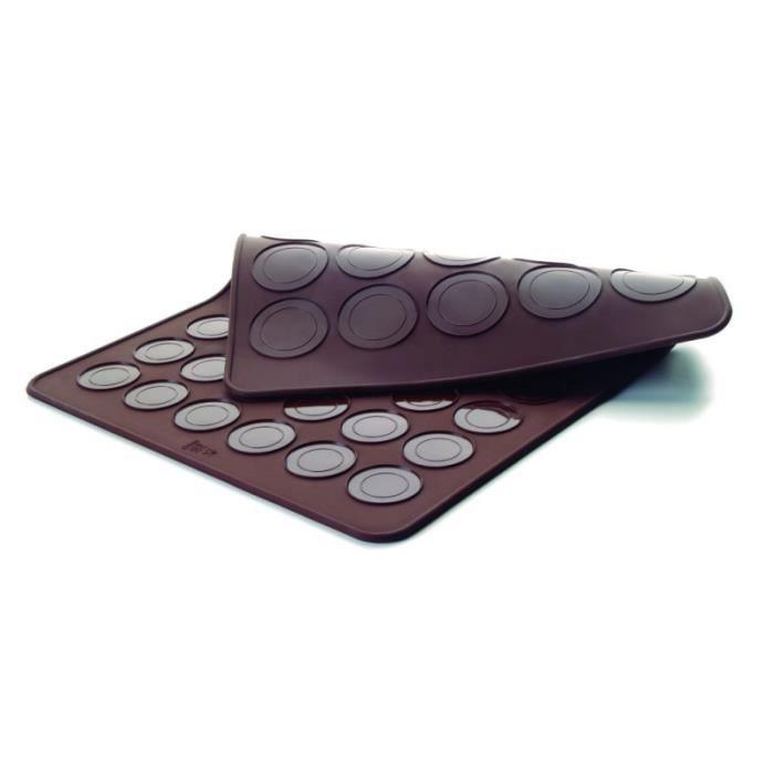 plaque macaron en silicone duo petit et grand lacor achat vente plancha de table cdiscount. Black Bedroom Furniture Sets. Home Design Ideas