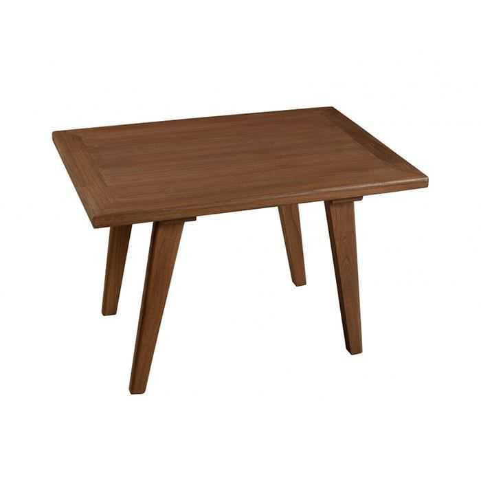 Table basse rectangulaire viking 70 x 50 cm achat - Table basse 70 s ...