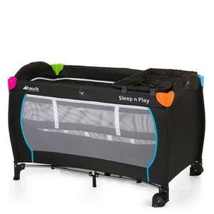 LIT PLIANT  Hauck Lit Parapluie Sleep N Play Center Black avec