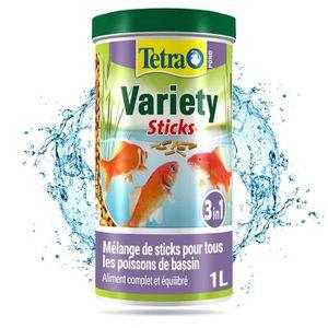TETRA Pond Variety Sticks 1l pour poisson de bassin
