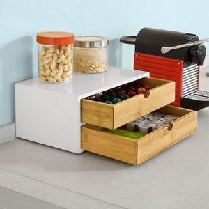 tiroir capsules achat vente tiroir capsules pas cher cdiscount. Black Bedroom Furniture Sets. Home Design Ideas