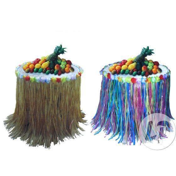 Bordure d co de table tahiti hawa 270x73 cm multicolore achat vente chemin de table cdiscount - Deco table multicolore ...