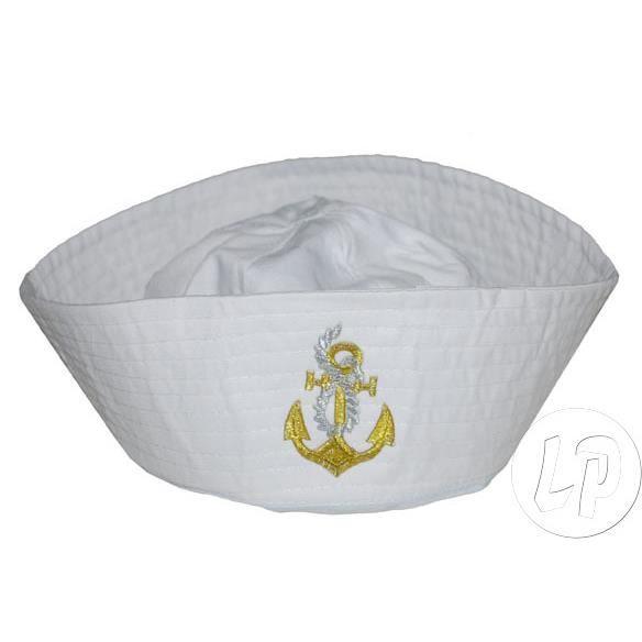 chapeau de marin avec broderie ancre blanc achat vente chapeau perruque cdiscount. Black Bedroom Furniture Sets. Home Design Ideas