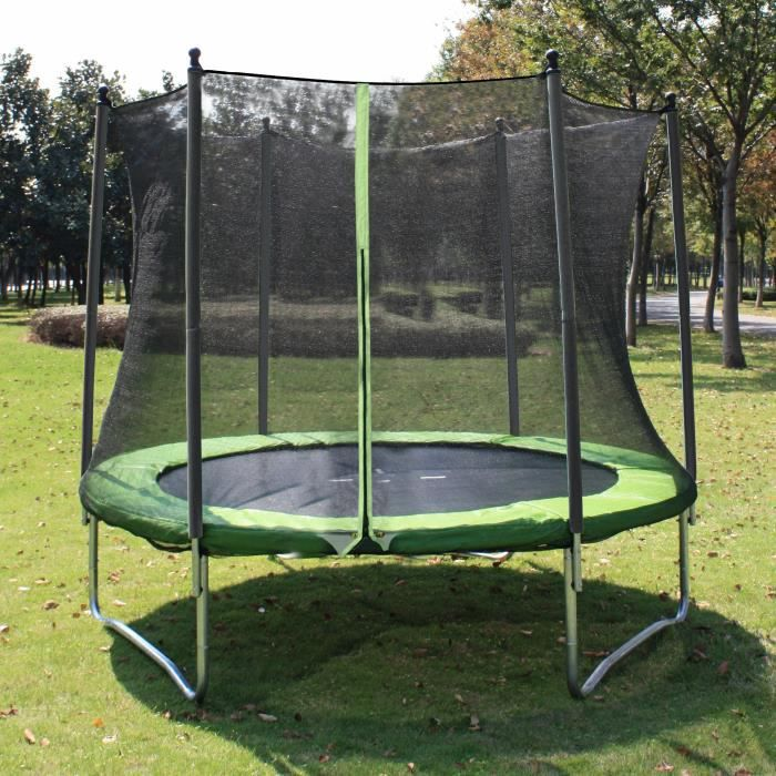 Protection trampoline 244 maison design - Protection trampoline ...