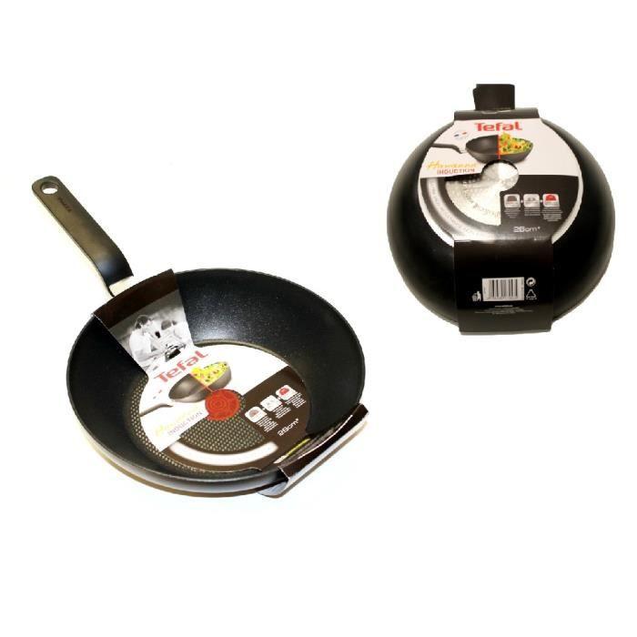 tefal wok havana induction achat vente po le sauteuse tefal wok havana inductio. Black Bedroom Furniture Sets. Home Design Ideas