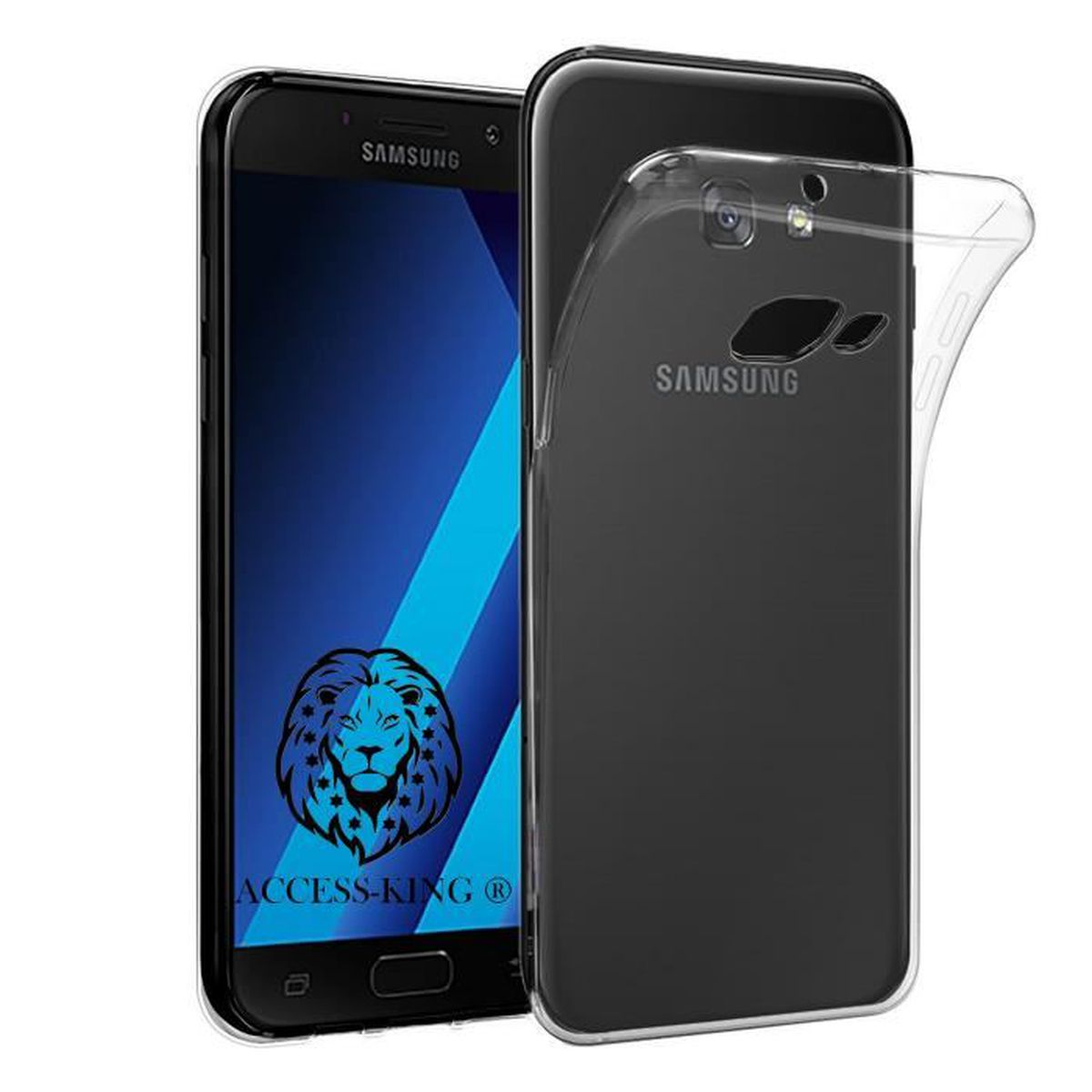 samsung galaxy a5 2017 etui ultra mince housse silicone transparent pour galaxy a5 2017 coque. Black Bedroom Furniture Sets. Home Design Ideas