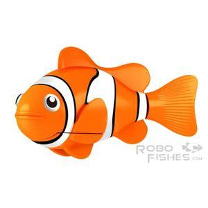 PARCOURS D'EAU 1 ROBO FISH ORANGE ZURU