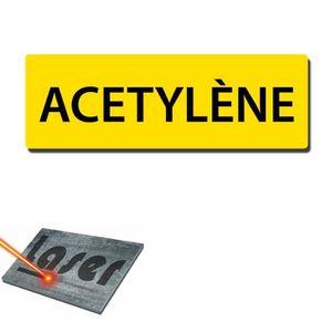 Acetylene achat vente acetylene pas cher cdiscount for Plaque autocollante