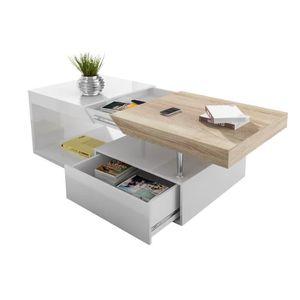Table basse avec rangement achat vente table basse avec rangement pas che - Table basse avec rangement pas cher ...