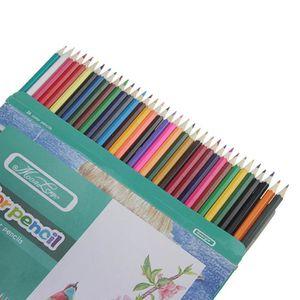 lot de 36 crayons de couleur crayons l 39 huile pour jardin secret carnet de coloriage peinture. Black Bedroom Furniture Sets. Home Design Ideas