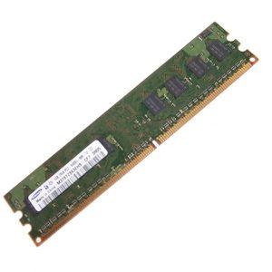 MÉMOIRE RAM Ram Barrette Mémoire SAMSUNG 1GB DDR2 PC2-6400U M3