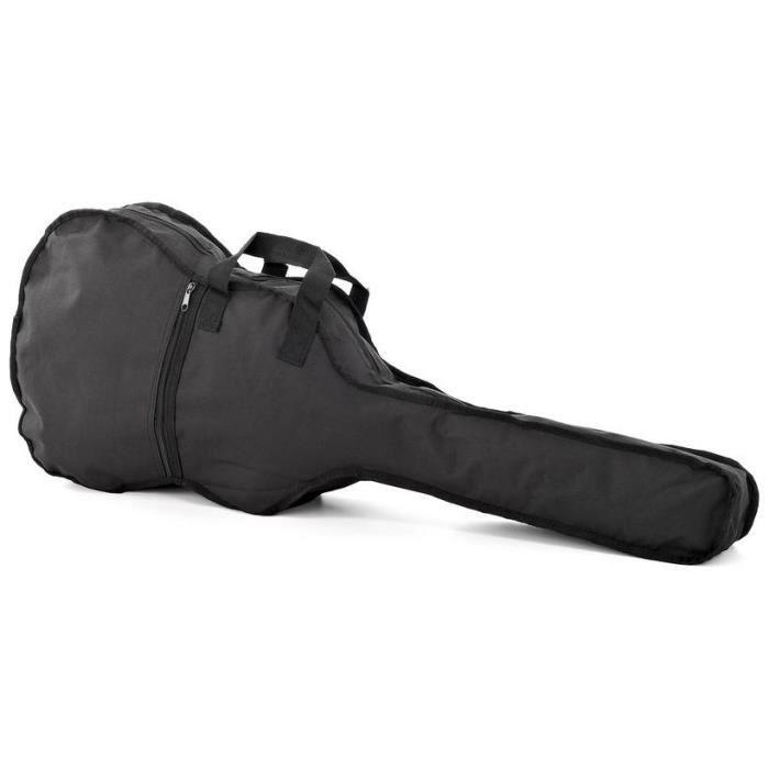 Housse etui souple 3 4 pour guitare classique pas cher for Housse guitare classique