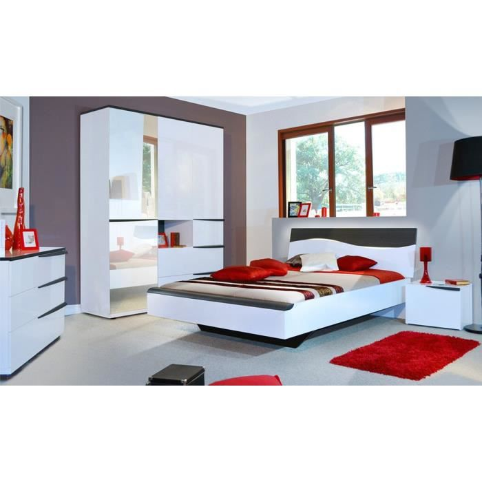 Chambre adulte compl te 160 200 vixon achat vente for Chambres adultes completes