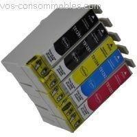 5 cartouches compatibles t1295 pour epson stylus sx445w prix pas cher cdiscount. Black Bedroom Furniture Sets. Home Design Ideas