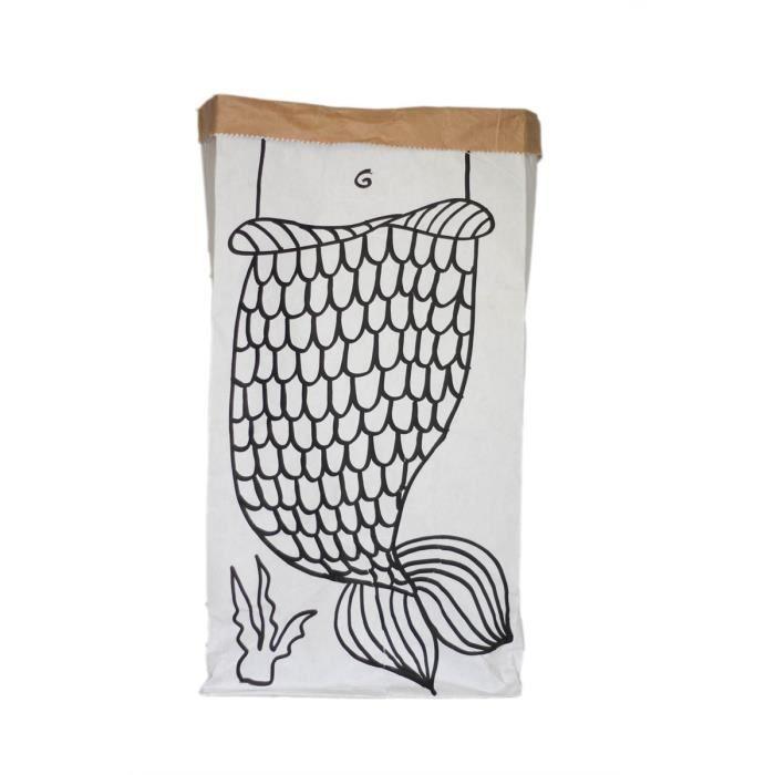 Sac en papier kraft sir ne achat vente sac poubelle cdiscount - Deguisement sac poubelle ...
