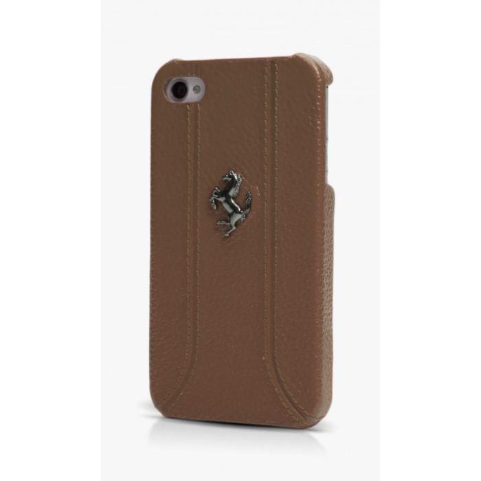 coque iphone 5 de protection ferrari en cuir achat vente coque bumper coque iphone 5 de. Black Bedroom Furniture Sets. Home Design Ideas