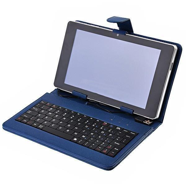 Housse clavier azerty tablette pc 8 micro usb achat for Housse tablette 8 pouces