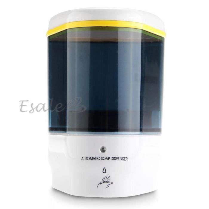 500ml distributeur de savon mural automatique liquide en