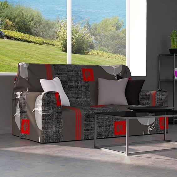 housse de canap 3 places. Black Bedroom Furniture Sets. Home Design Ideas