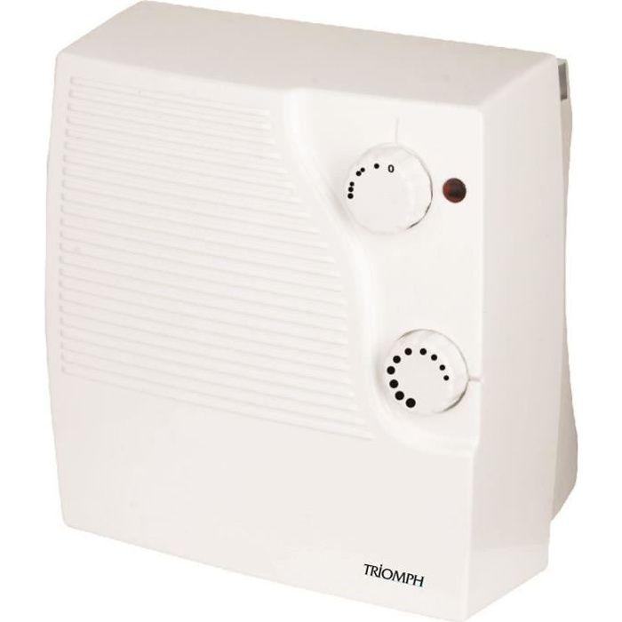 triomph radiateur soufflant salle de bains 2000w achat vente radiateur panneau radiateur. Black Bedroom Furniture Sets. Home Design Ideas