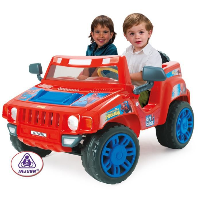 Pick up 12v 2 places spiderman the amazing achat vente voiture pick up 12v spiderman - Spiderman voiture ...