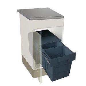 Poubelle poubelle encastrable achat vente poubelle - Poubelle a roulette pas cher ...