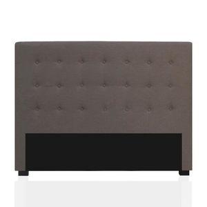tete de lit 160 taupe achat vente tete de lit 160 taupe pas cher cdiscount. Black Bedroom Furniture Sets. Home Design Ideas