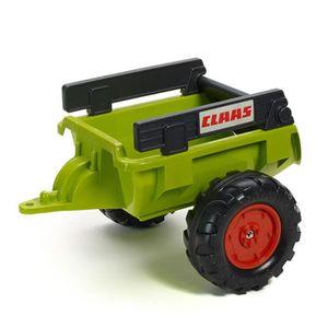 tracteur chantier remorque de tracteur claas verte
