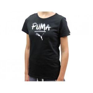 T-SHIRT FUN TD LOGO TEE NR - Tee shirt Fille Puma