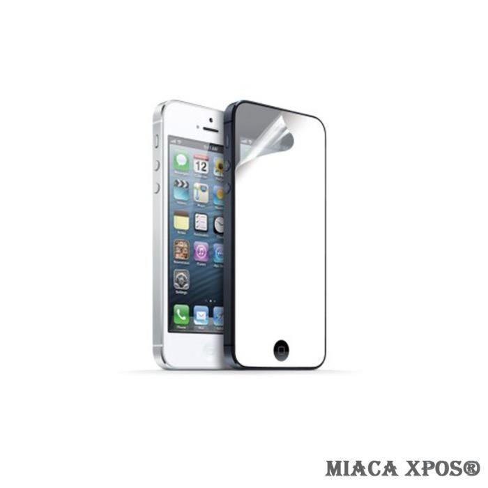 Film de protection ecran effet miroir pour ipho achat for Application miroir iphone