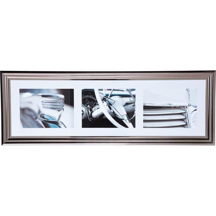 tableau voiture vintage us 108x38 cm achat vente tableau toile cdiscount. Black Bedroom Furniture Sets. Home Design Ideas
