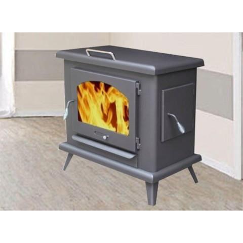 po le bois horizon pour b ches de 60 cm briques achat vente po le insert foyer po le. Black Bedroom Furniture Sets. Home Design Ideas