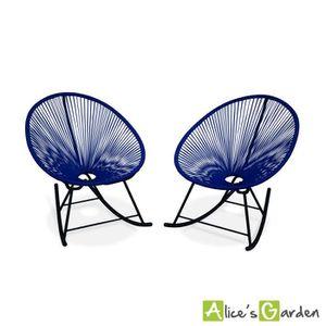 fauteuil de jardin en fil plastique achat vente. Black Bedroom Furniture Sets. Home Design Ideas