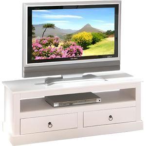 meuble tv rustique achat vente meuble tv rustique pas cher cdiscount. Black Bedroom Furniture Sets. Home Design Ideas