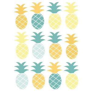 stickers ananas achat vente stickers ananas pas cher. Black Bedroom Furniture Sets. Home Design Ideas
